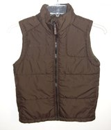 Columb1a Boys Medium 10/12 Dark Brown Puffer Vest in Yorkville, Illinois