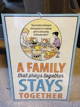 Family that Prays Together Metal Sign (NEW) in Glendale Heights, Illinois