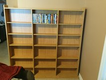 DVDs Games CDs Storage Shelf Rack Cabinet Organaizer in Jacksonville, Florida