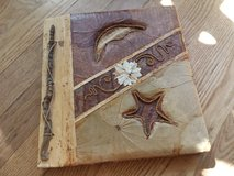 Handmade Leaf Photo Album in Naperville, Illinois