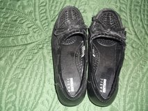 BASIC EDITIONS BLACK SLIPPER 6W WITH RIDGED TOE in Alamogordo, New Mexico