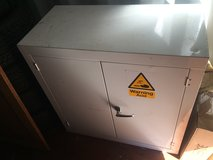 Metal Chemical Cabinet in Lakenheath, UK