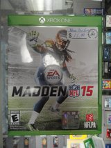 XBOX ONE Madden 15 in Camp Lejeune, North Carolina