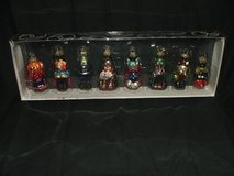Dept. 56 Halloween Mini Glass Ornaments NEW in Glendale Heights, Illinois
