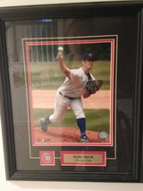 CUBS Mark Prior Framed Photo in Joliet, Illinois