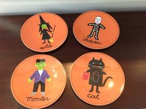 Set of 4 Halloween Plates from Pottery Barn Kids in Glendale Heights, Illinois