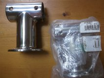 NEW**32mm STAINLESS STEEL PIPE BRACKETS (2 PIECES) in Okinawa, Japan