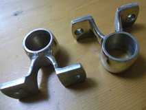 NEW** 26mm STAINLESS STEEL PIPE BRACKETS (2 PCS) in Okinawa, Japan