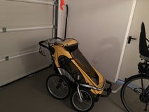 Stroller/Jogger/Trailer for two kids Zigo Mango X2 Complete in Wiesbaden, GE