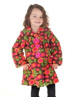 Olive & Lucy by Mack & Co Pink & Green Flower Coat 2T in Hinesville, Georgia