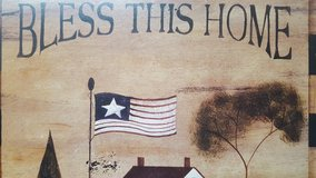 """Bless This Home Sign 15""""x17"""" in Kingwood, Texas"""