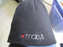 Men's Macys Black Beanie in Orland Park, Illinois