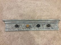 Farmhouse / Vintage style wall mounted coat rack in Chicago, Illinois