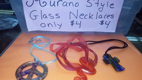 Beautiful glass necklaces  and sets in Yucca Valley, California