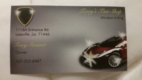 Terry's Tint Shop Now Mobil in Fort Polk, Louisiana
