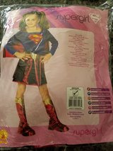 Supergirl costume size 8/10 in Oswego, Illinois