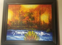 Framed Canvas Painting in Naperville, Illinois