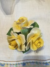 English Yellow Rose China Figurine in Clarksville, Tennessee
