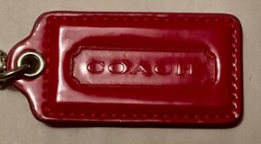 REAL RED COACH HANG TAG in Lakenheath, UK