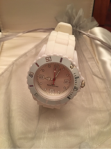 Ladies Oversized White Watch in Naperville, Illinois