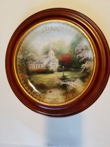 THOMAS KINKADE COLLECTOR PLATE ~ BELIEVE in Yucca Valley, California