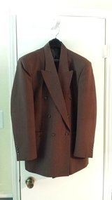 Gino Cappeli Collection Double-Breasted Dress Jacket, Size 40R in Houston, Texas