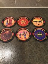 Budweiser brewery collectible coasters in Naperville, Illinois