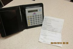 2-Currency Conversion Calculator In Carrying Case - NIB in Houston, Texas