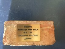White Sox- old Comiskey Park brick in Naperville, Illinois