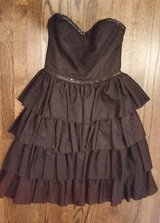 Dress - Black Strapless - Sequins - Formal/ Halloween/ Dressup in Orland Park, Illinois