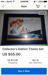 Titanic VHS Collector's Edition with book in Travis AFB, California