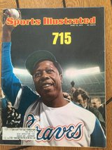 Hank Aaron sports illustrated 715 cover in St. Charles, Illinois