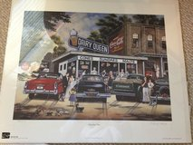Coca Cola Dairy Queen Refreshing Times Art Paint w/ COA by Pamela Renfroe in Byron, Georgia