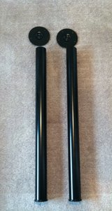 1 pair Black Metal Legs in Lockport, Illinois