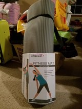 Empower Fitness Mat with carry strap new in Naperville, Illinois