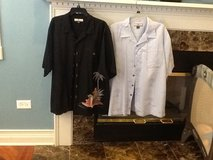 Mens tommy bahama and other designer shirts almost new in Lockport, Illinois