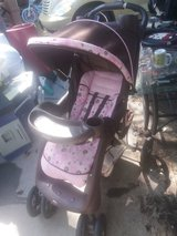 Brown and pink stroller in Fort Riley, Kansas