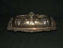 Vintage Empress Silverplate Butter Dish 3 Pc in Westmont, Illinois