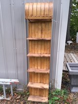 Vintage toboggan with shelves in Elgin, Illinois