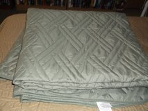FULL SIZE GREEN QUILT in Alamogordo, New Mexico