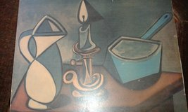 old print from Pablo Picasso , la Casserole emaille from 1945 in Ramstein, Germany