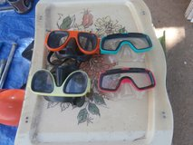 Four Googles in Yucca Valley, California