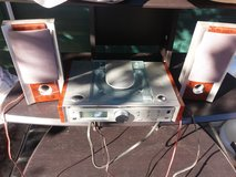 Small stereo in Fort Riley, Kansas