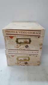 Photo & Video Storage Boxes - 2 in Spring, Texas