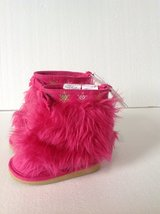 New! Gymboree Hot Pink Fur Boots 3 in Clarksville, Tennessee