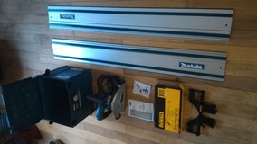 Brand new Makita Tracksaw and rail and clamps in Leesville, Louisiana