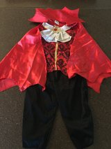 Vampire costume-Children's Size 2T in Leesville, Louisiana