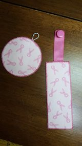 Breast Cancer Book Marks & Matching Coasters in Plainfield, Illinois