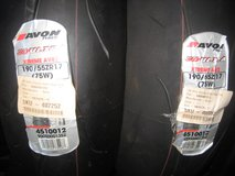 Avon AV82 Ultra Xtreme rear tire 190/55-17 in Camp Pendleton, California