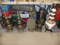 ***  Assorted Vintage Lamps  *** in Yucca Valley, California